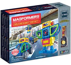 Купить Magformers Walking Robot Car Set