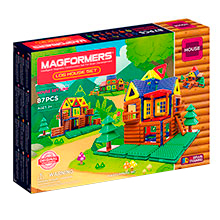 Купить Magformers Log House Set