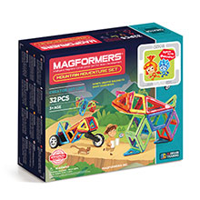 Купить Magformers Fixie Mountain Adventure Set