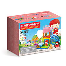 Купить Magformers Town Ice Cream Shop Set